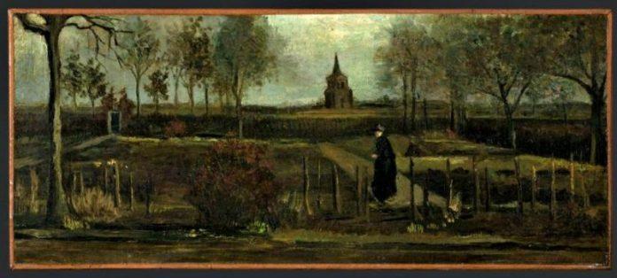 Rubato il Giardino della Canonica di VAn Gogh