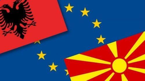Via libera dell'Ue a negoziati per adesione di Albania e Macedonia del Nord
