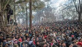 migranti dalla Siria verso la Grecia attraverso la Turchia