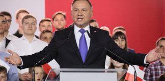 La Polonia spaccata in due