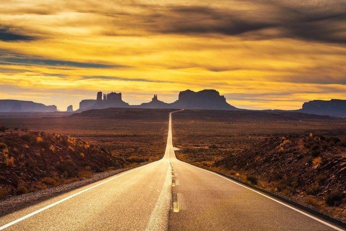 Rock strada e viaggio