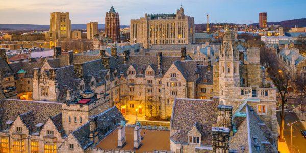 New Haven nel Connecticut con la celebre Università di Yale
