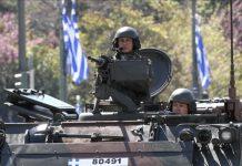 Grecia aumenta spesa militare del 57%