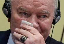 Mladic confermato l'ergastolo
