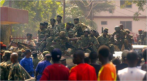 Colpo di Stato in Guinea