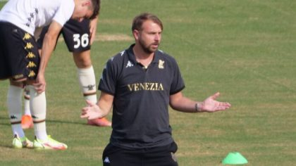 """Venezia FC; Zanetti: """"We maintain to turn out to be an actual staff; I hope to catch a step ahead"""""""