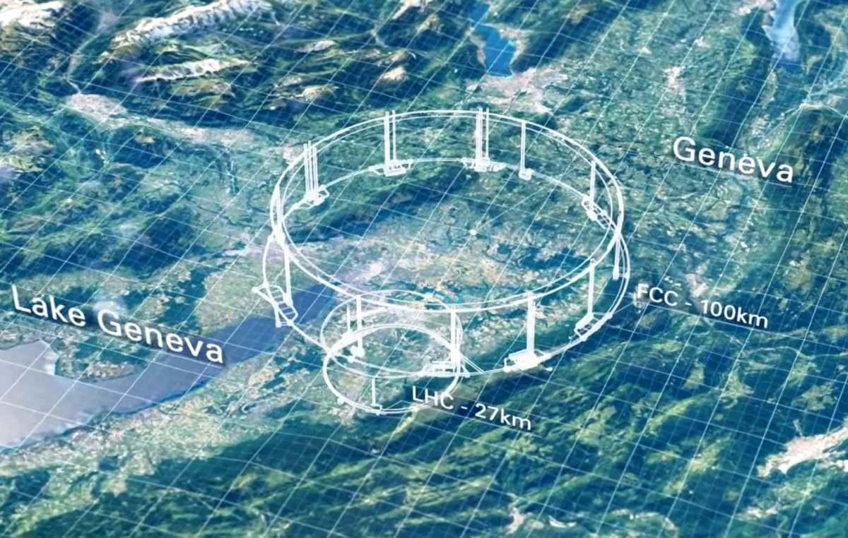 Presentato concept del nuovo collisore sotterraneo da 100 km di diametro