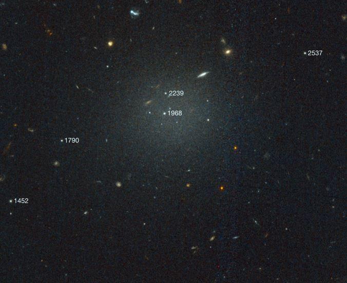 Trovata seconda galassia senza materia oscura