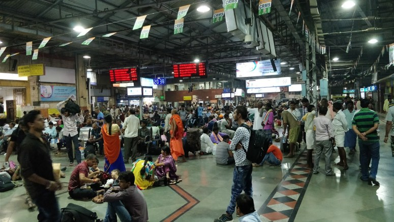 CST Station Crowd