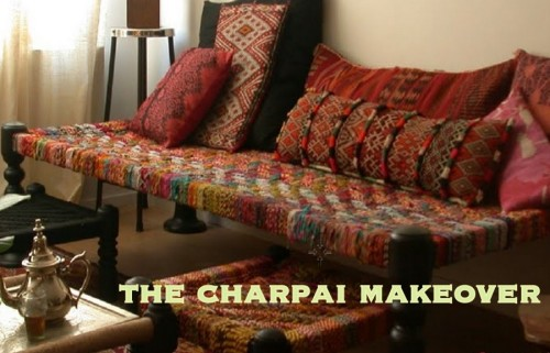 'The Charpai' makeover and going back in time