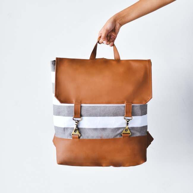 The classy, minimalist backpack by Studio Dukaan via