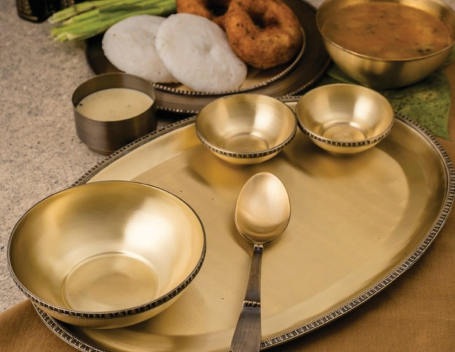 brass, metal, madeinindia, courtyard by aline, kitchenware, serveware, home