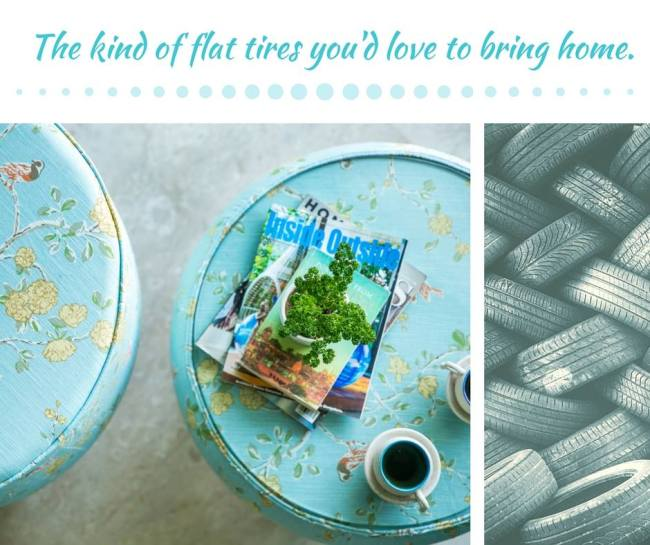 upcycling, tyre, furniture, design, madeinindia, handmade