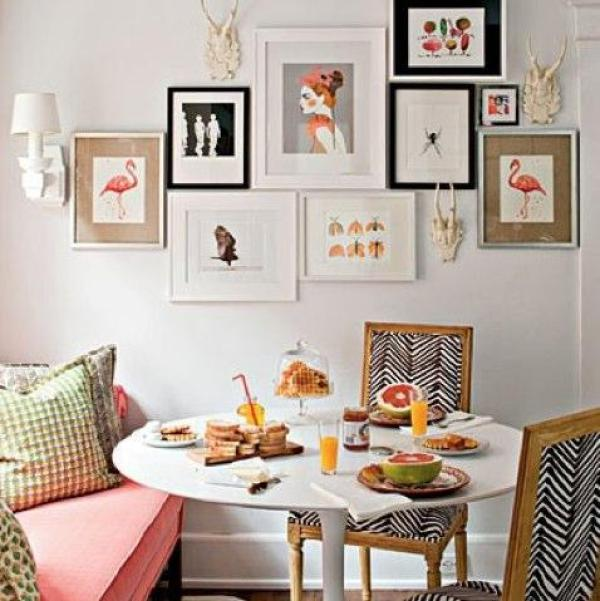 Creating a picture collage wall