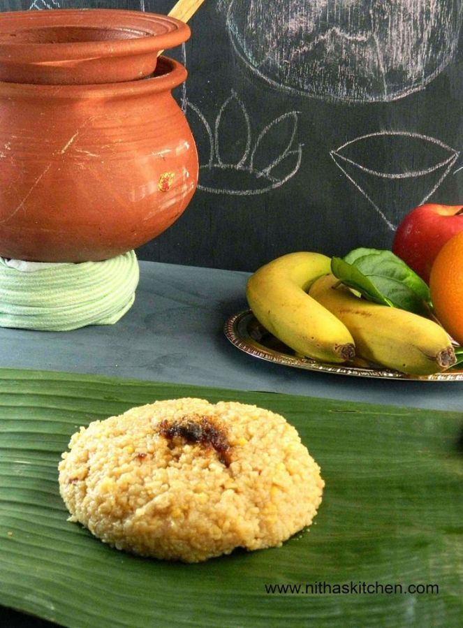 Sweet Pongal from Tamil Nadu...recipe, right here