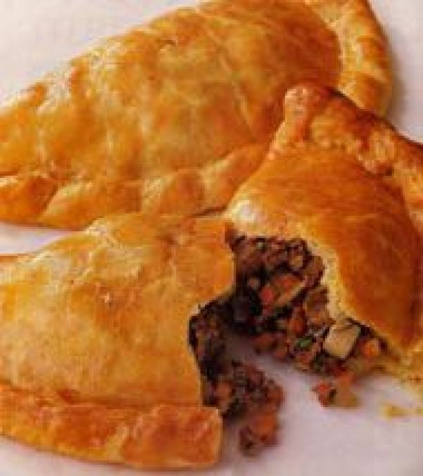 Bridie - The Scottish pasty, filled with minced lamb
