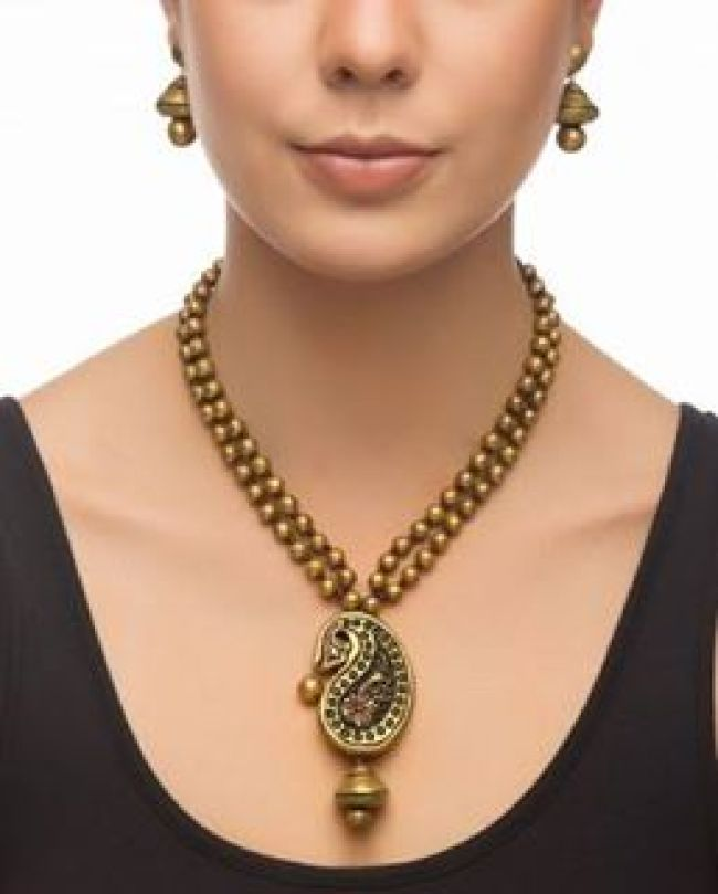 terracotta-indian-necklace-set