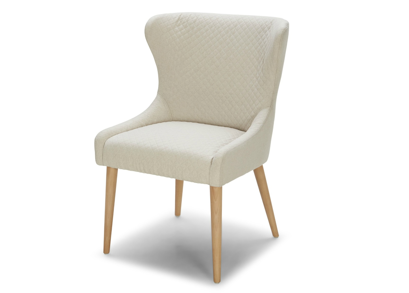 White Fabric Dining Chairs Stella Dining Chair In Off White Fabric Not Just Brown