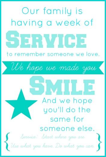 Service Cards