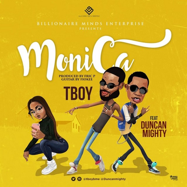VIDEO: Tboy ft. Duncan Mighty – Monica