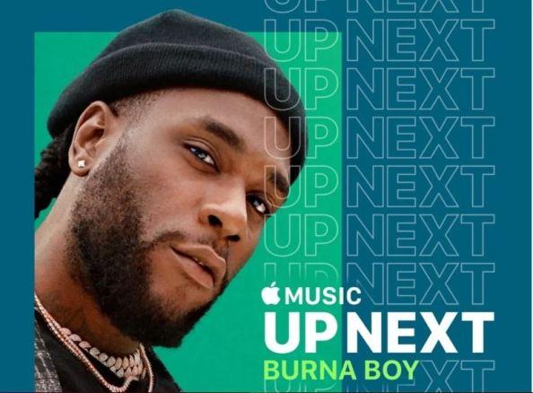 Burna Boy Up Next Apple Music