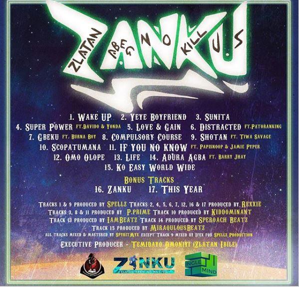 Zlatan ZANKU Album