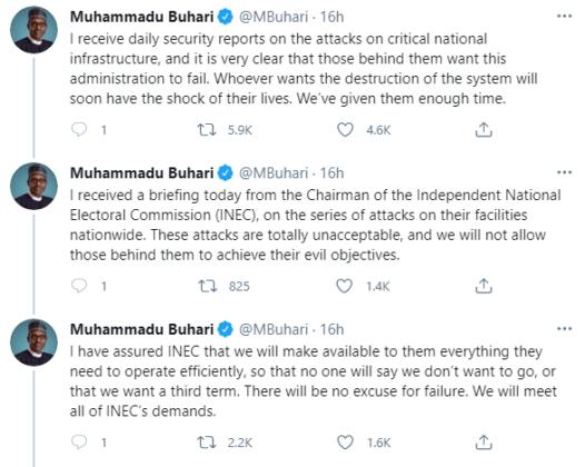 Falz Objects to President Buhari's Threat Message   NotjustOK