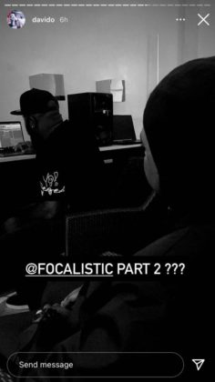 Davido Teases New Collab with Focalistic   NotjustOK