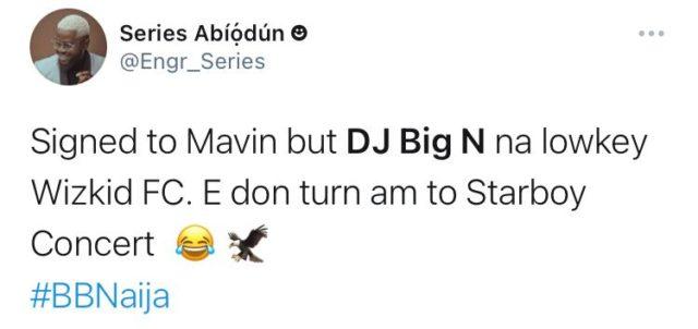 See Top Reactions as DJ Big N Kicks Off BBNaija Season 6 Party Nights NotjustOK