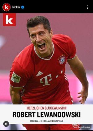 Lewandowski on Kicker handle