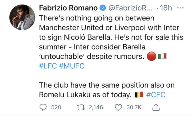 Fabrizio Tweet
