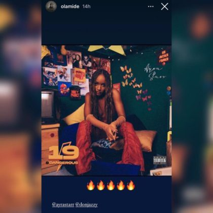 Olamide Has Something to Say About Ayra Starr Album Read NotjustOK