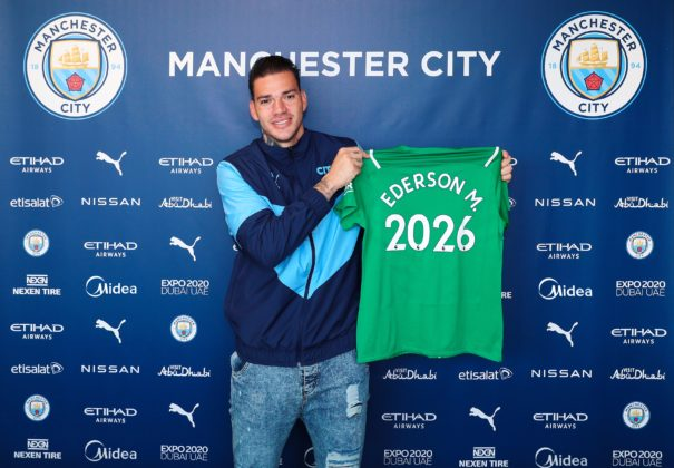 Ederson, Manchester City