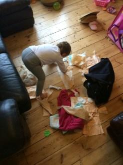 Making a mess