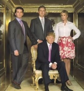 donald trump family