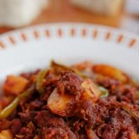 Goan Chouriço Fry | Goan Sausage Fry