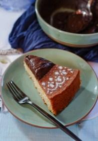 Golden Almond Cake on notjustspice.com