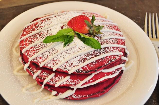 red velvet pancakes 2