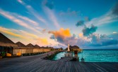 Maldives in the morning (Constance Halaveli Resort & Spa) by Mac Qin