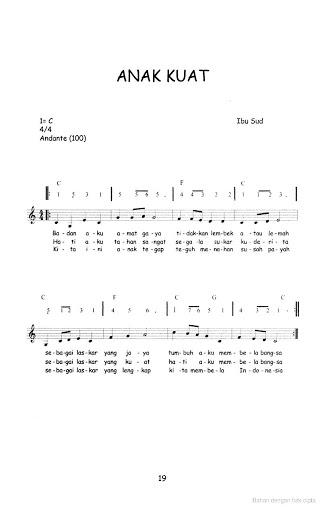 Lagu Anak Anak Dengan Not Angka : dengan, angka, Koleksi, Angka, Terbaru