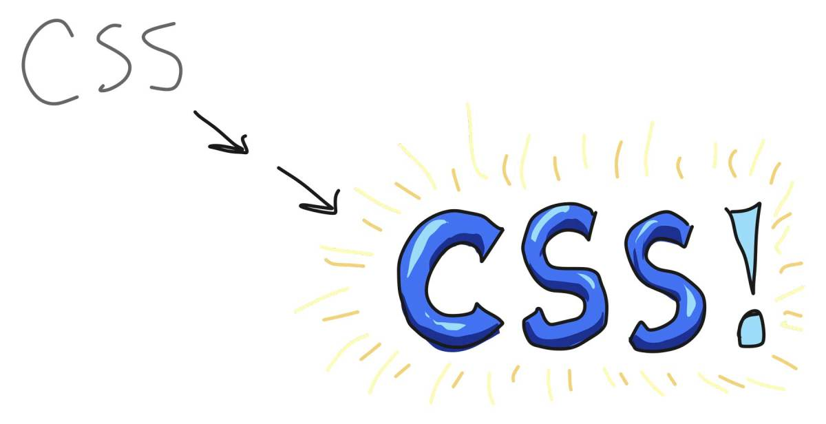 """CSS"" transforming from simple and grey to exaggerated and blue and exciting"