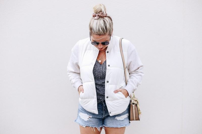 Cream Puffer Jacket
