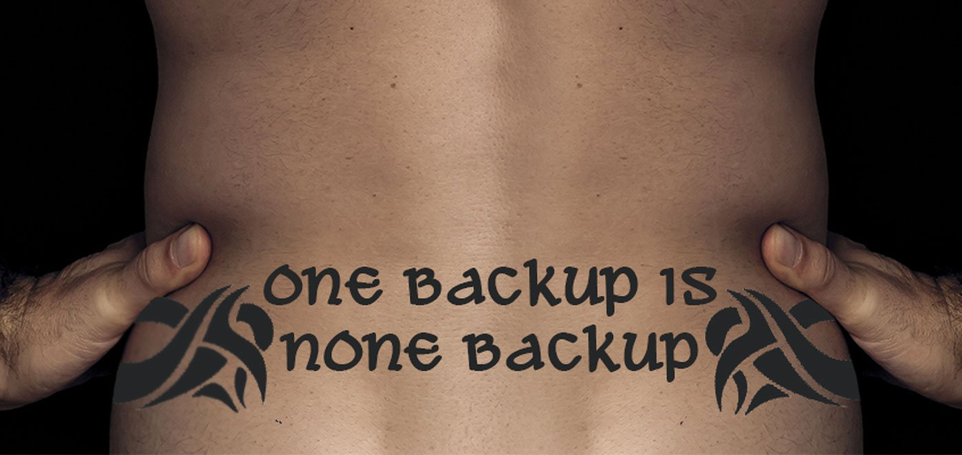 Backup Tattoo