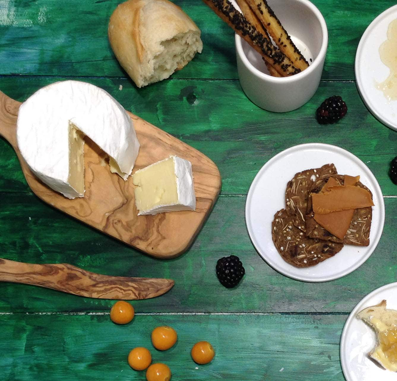 Choose Your Own Indulgence | Cheese and Crackers for Dinner