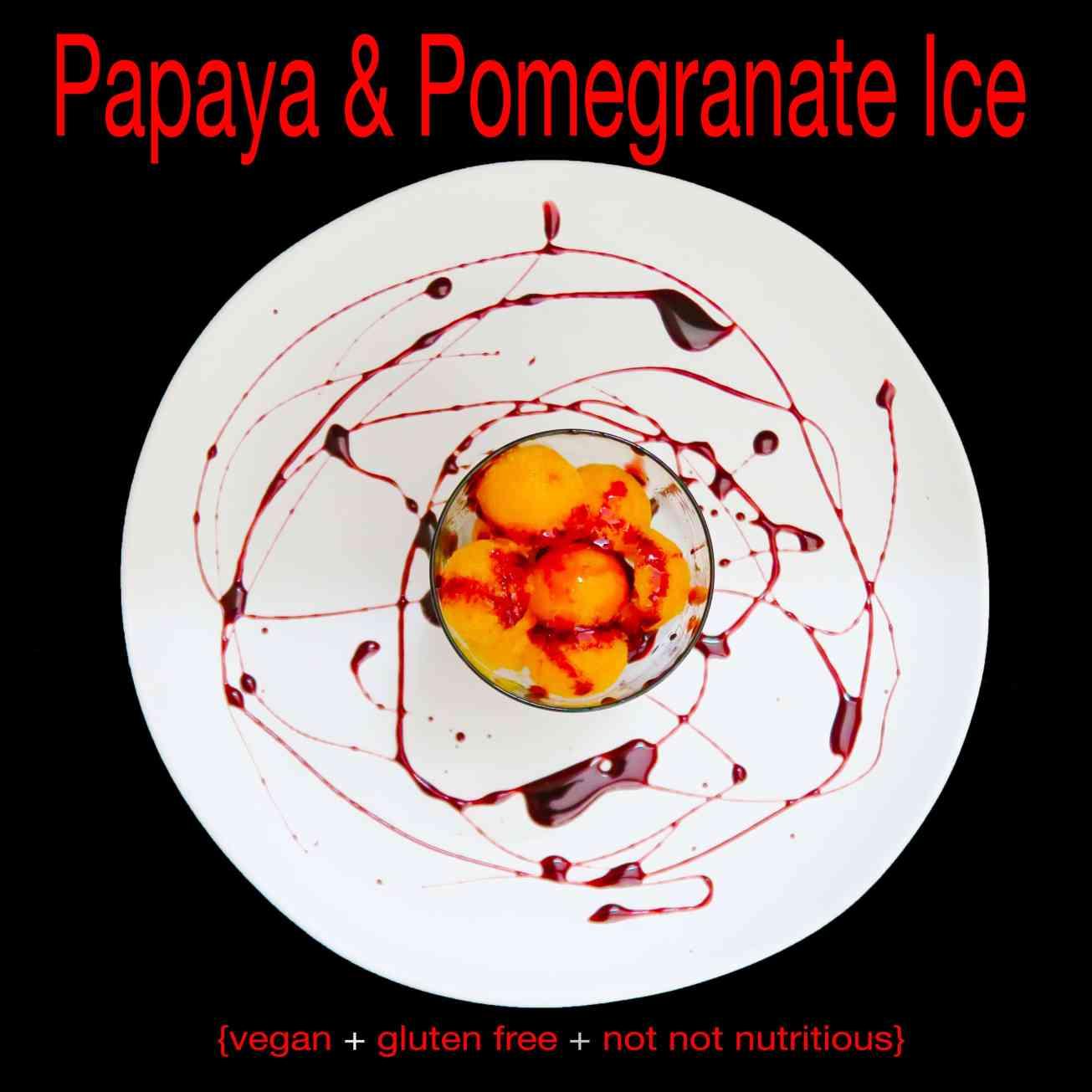 papaya and pomegranate ice_IMG_1262