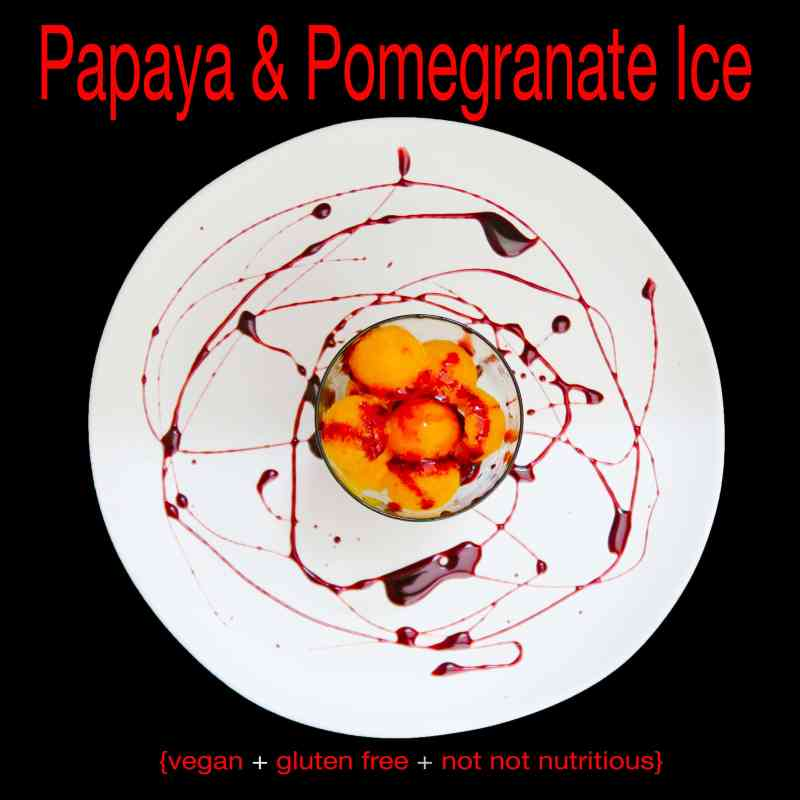 papaya and pomegranate ice_IMG_1262