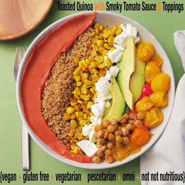 toasted quinoa with smoky paprika sauce_IMG_1343