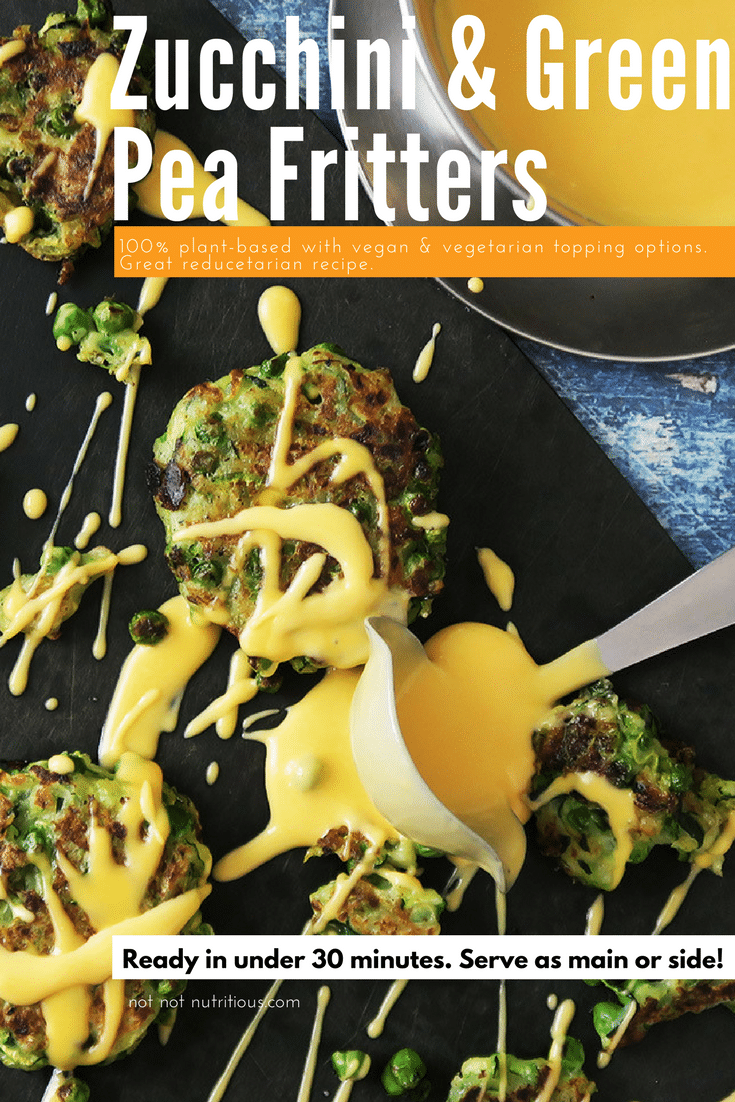 Final_PIN_Zucchini and Pea Fritters_vegan_vegetarian