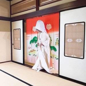 「花嫁のれんくぐり」 美しい伝統文化が受け継がれている七尾 花嫁のれん館 【七尾市】