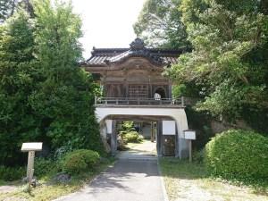 山の寺寺院群の一つ、千日詣りで有名な七不思議のお寺「妙観院(みょうかんいん)」